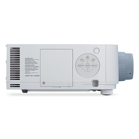Nec np pa622u 13zl projector eastporters audio video for Nec table 373 6