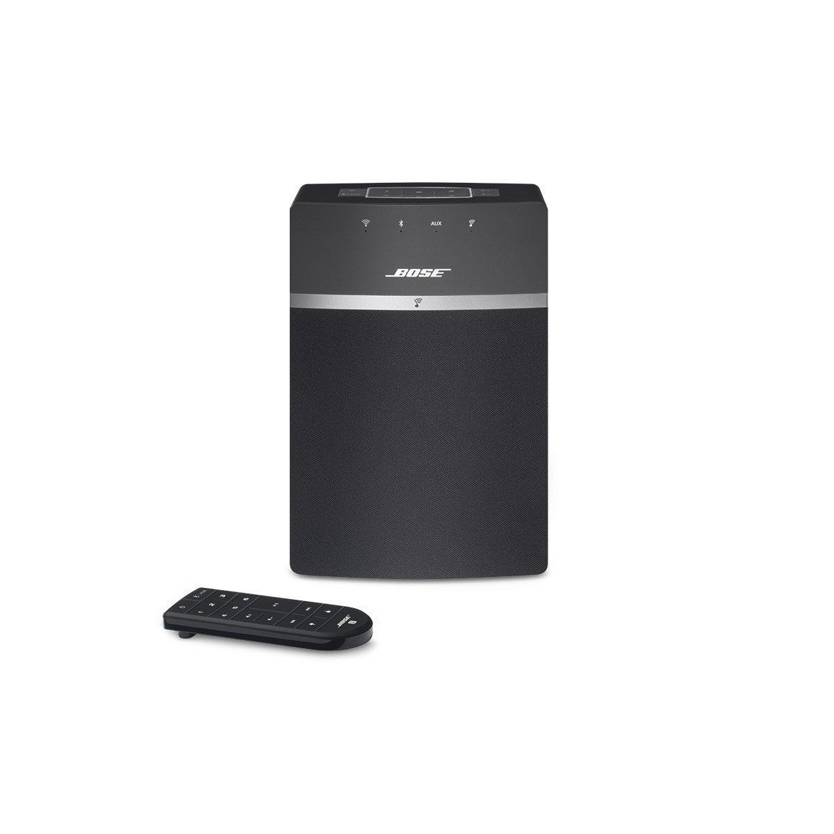 bose soundtouch 10 speaker music system black. Black Bedroom Furniture Sets. Home Design Ideas