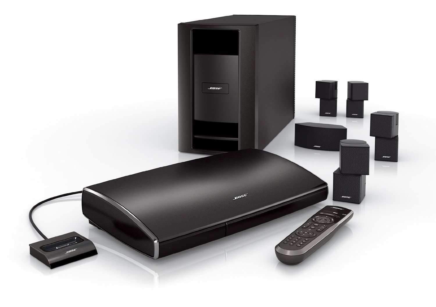 Home theater bose lifestyle v25 troubleshoot