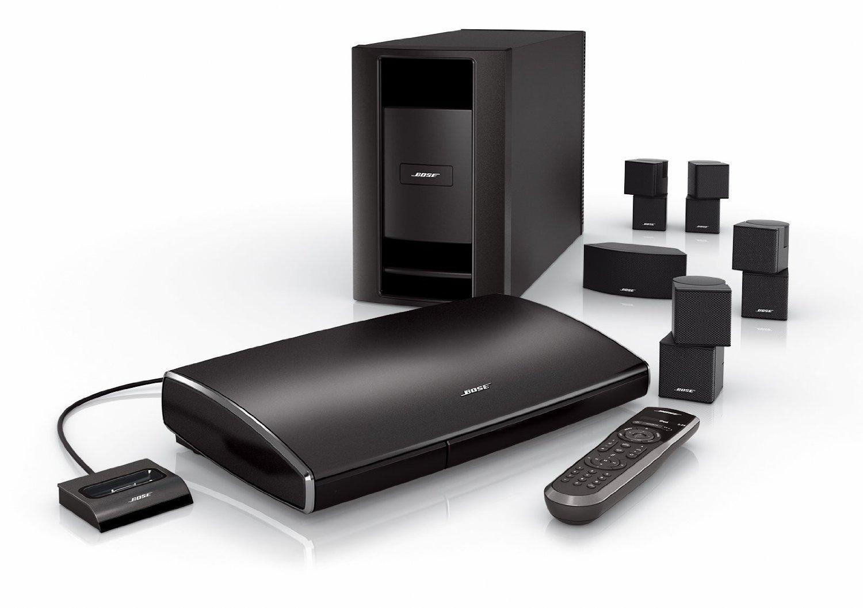 bose lifestyle v35 series home theater system. Black Bedroom Furniture Sets. Home Design Ideas