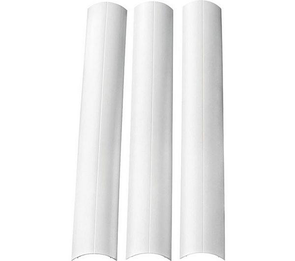 omnimount cmk paintable cable management system white. Black Bedroom Furniture Sets. Home Design Ideas