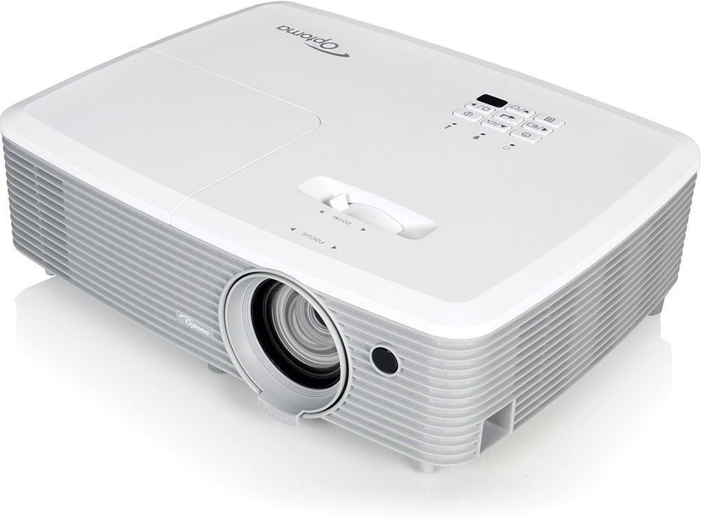 Optoma eh345 dlp 1080p full hd business projector for Dlp micro projector