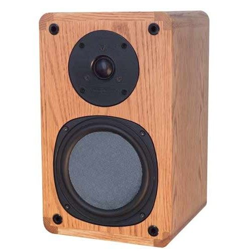 Phase Technology PC60 CA Classic Audiophile 2 Way Limited Edition Bookshelf Speaker Pair Black Oak