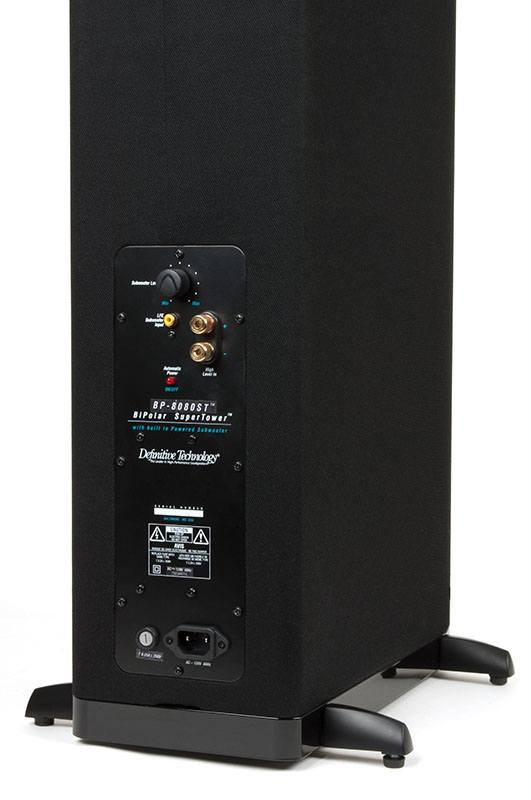 Definitive Technology Bp 8080st Bipolar Tower With Built In