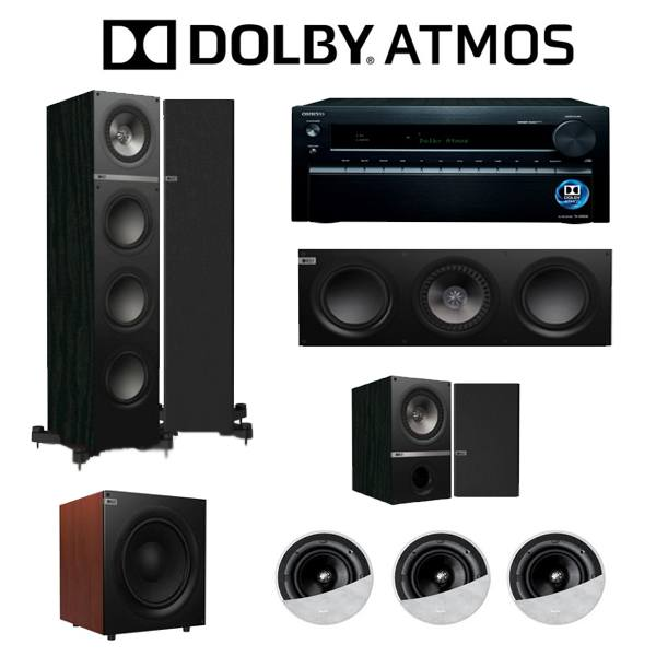 Onkyo And Kef Full Dolby Atmos Audio Package
