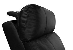 Valencia Piacenza Home Theater Seating Adjustable Powered Headrest Position