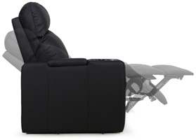 Valencia Piacenza Home Theater Seating Wall-Hugging Design