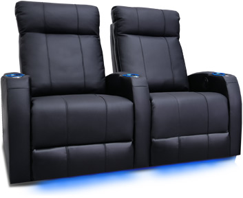 Valencia Syracuse Home Theater Seating Slim Compact Design