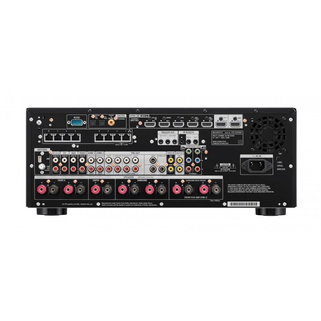 Sony Str Za3100es Av Receiver 7 2 Channel