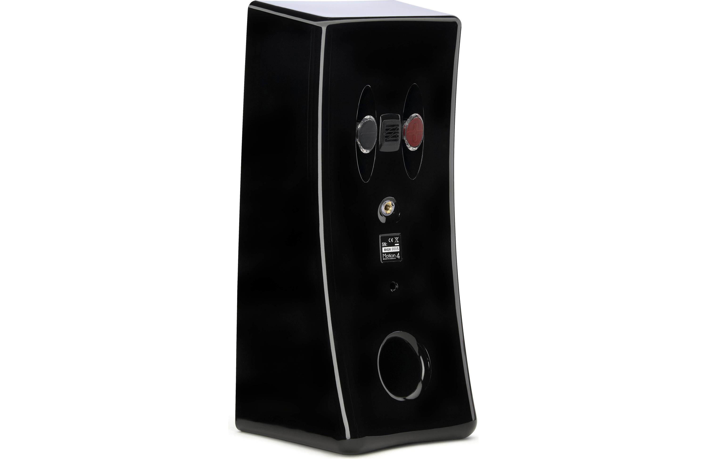 MartinLogan Motion 2i 3 1 2 Bookshelf Speaker Each Gloss Black