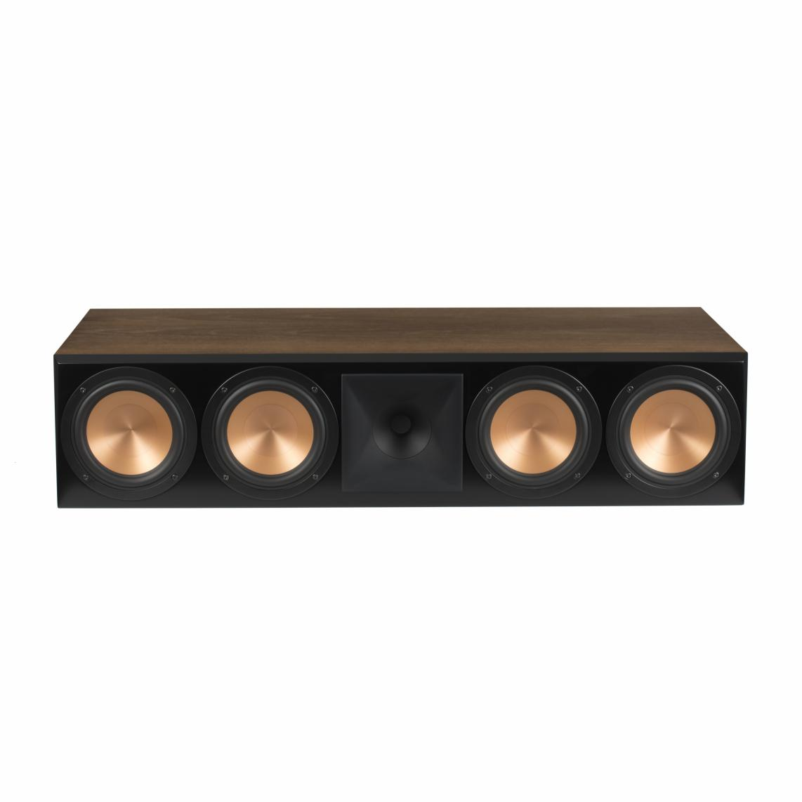 klipsch rc 64 iii center channel speaker walnut. Black Bedroom Furniture Sets. Home Design Ideas