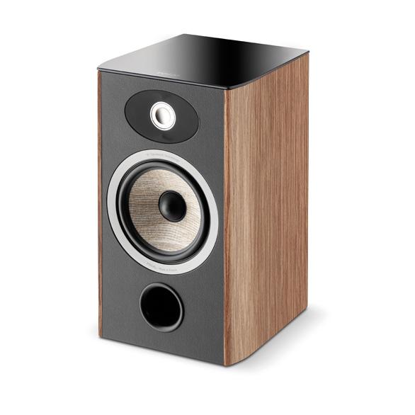 Focal Aria 906 2 Way Bass Reflex Bookshelf Speaker Walnutpair