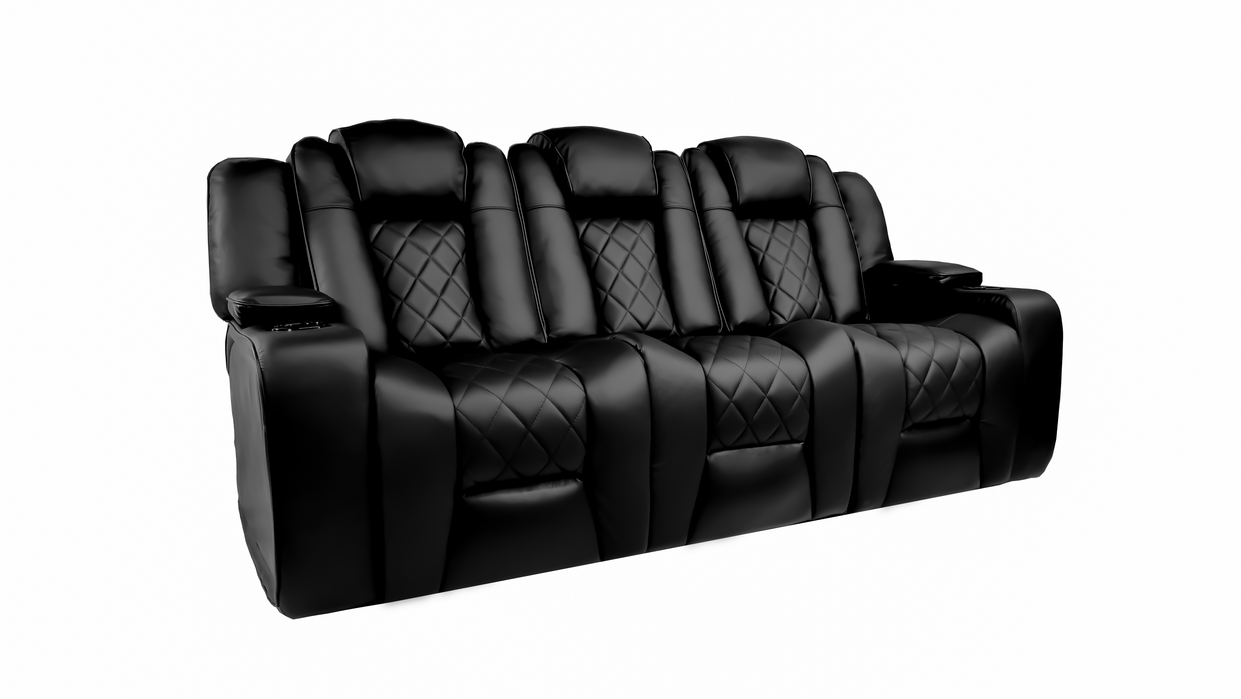 Oxford Leather Motorized Recliner