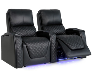 Valencia Bern Home Theater Seating Adjustable Powered Recline Position