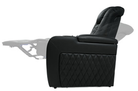 Valencia Bern Home Theater Seating Wall-Hugging Design