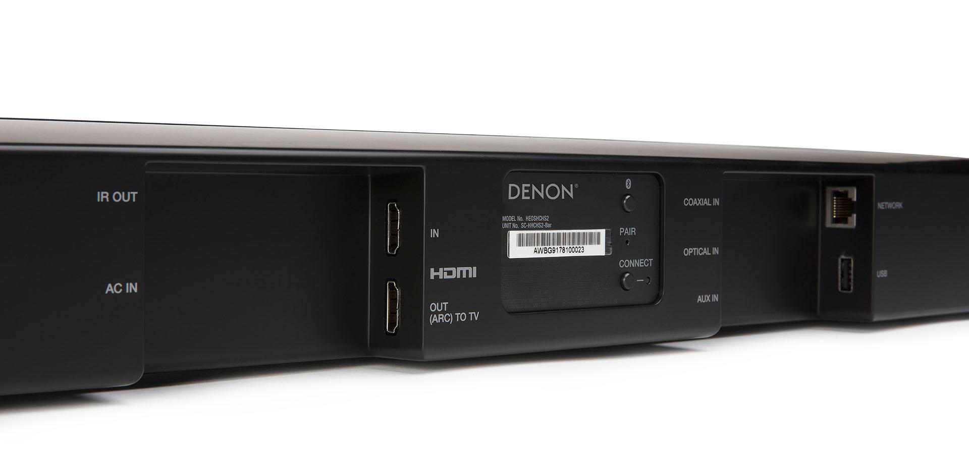 Descripción Barra de Sonido Denon DHT-S516H