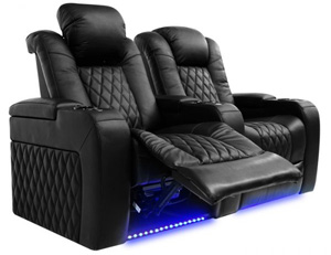 Valencia Tuscany Home Theater Seating Adjustable Powered Recline Position